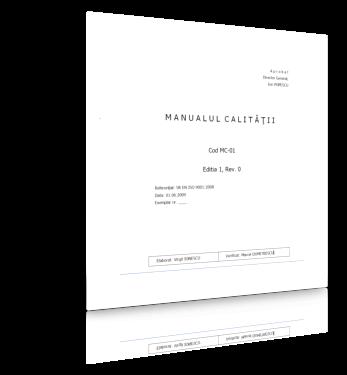 Documentație completă sistem HACCP